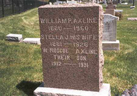 AXLINE, STELLA J. - Franklin County, Ohio | STELLA J. AXLINE - Ohio Gravestone Photos