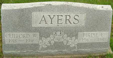 AYERS, CLIFFORD - Franklin County, Ohio | CLIFFORD AYERS - Ohio Gravestone Photos