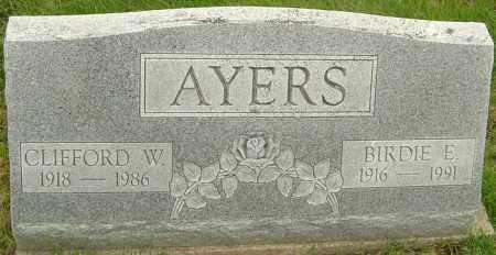 ZAI AYERS, BIRDIE - Franklin County, Ohio | BIRDIE ZAI AYERS - Ohio Gravestone Photos