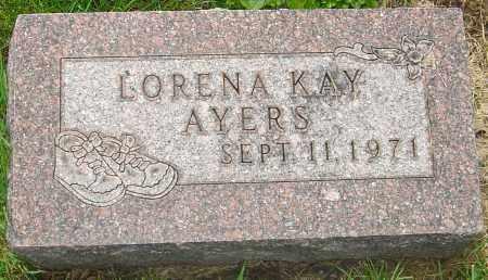 AYERS, LORENA - Franklin County, Ohio | LORENA AYERS - Ohio Gravestone Photos