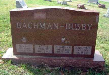 BACHMAN, HOMER C. - Franklin County, Ohio | HOMER C. BACHMAN - Ohio Gravestone Photos
