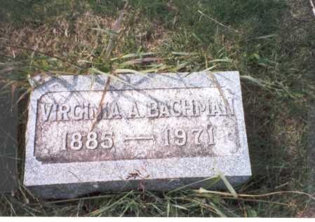 HEPNER BACHMAN, VIRGINIA L. - Franklin County, Ohio | VIRGINIA L. HEPNER BACHMAN - Ohio Gravestone Photos