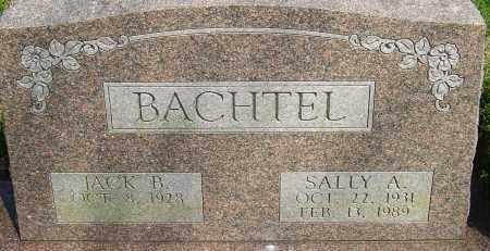 HOLCOMB BACHTEL, SALLY A - Franklin County, Ohio | SALLY A HOLCOMB BACHTEL - Ohio Gravestone Photos