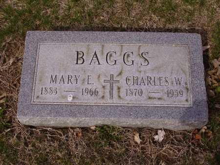 BAGGS, CHARLES W. - Franklin County, Ohio | CHARLES W. BAGGS - Ohio Gravestone Photos