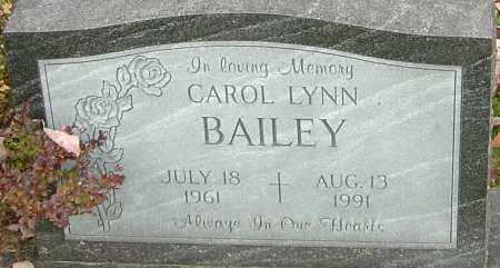 BAILEY, CAROL - Franklin County, Ohio | CAROL BAILEY - Ohio Gravestone Photos