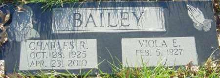 BAILEY, CHARLES R - Franklin County, Ohio | CHARLES R BAILEY - Ohio Gravestone Photos