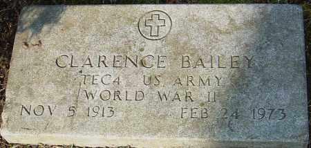 BAILEY, CLARENCE - Franklin County, Ohio | CLARENCE BAILEY - Ohio Gravestone Photos