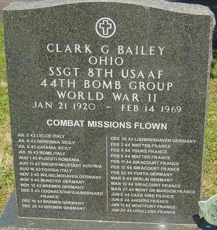 BAILEY, CLARK GRISWALD - Franklin County, Ohio | CLARK GRISWALD BAILEY - Ohio Gravestone Photos