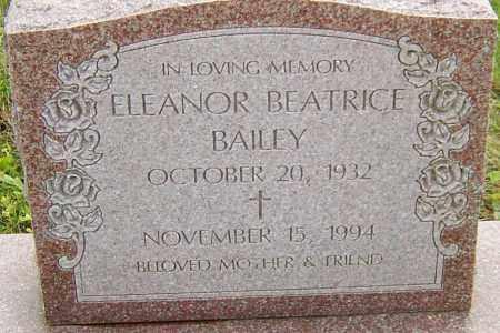 BAILEY, ELEANOR - Franklin County, Ohio   ELEANOR BAILEY - Ohio Gravestone Photos