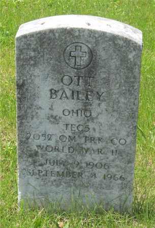 BAILEY, OTT - Franklin County, Ohio | OTT BAILEY - Ohio Gravestone Photos
