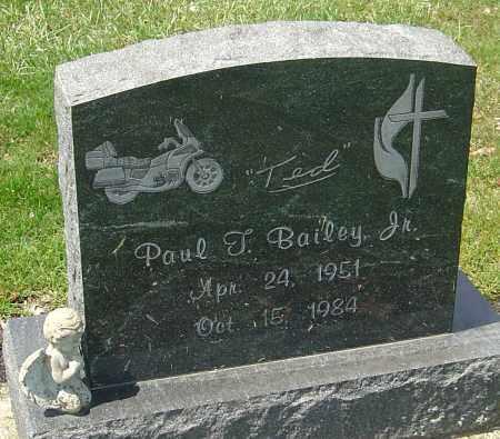 BAILEY, PAUL T. - Franklin County, Ohio | PAUL T. BAILEY - Ohio Gravestone Photos