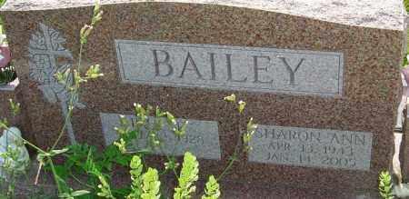 BAILEY, SHARON ANN - Franklin County, Ohio | SHARON ANN BAILEY - Ohio Gravestone Photos