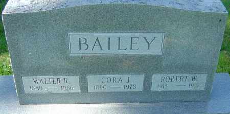 BAILEY, ROBERT W - Franklin County, Ohio | ROBERT W BAILEY - Ohio Gravestone Photos