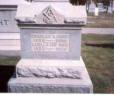 BAIRD, LUELLA - Franklin County, Ohio | LUELLA BAIRD - Ohio Gravestone Photos