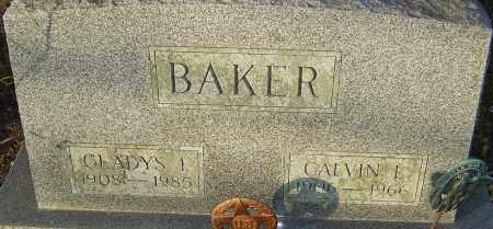 BAKER, CALVIN - Franklin County, Ohio | CALVIN BAKER - Ohio Gravestone Photos
