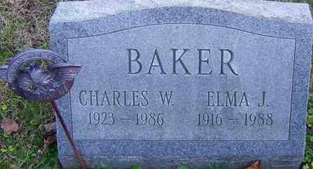 BAKER, CHARLES - Franklin County, Ohio | CHARLES BAKER - Ohio Gravestone Photos