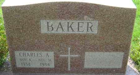 BAKER, CHARLES A - Franklin County, Ohio   CHARLES A BAKER - Ohio Gravestone Photos