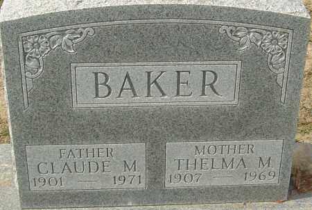 BAKER, THELMA - Franklin County, Ohio | THELMA BAKER - Ohio Gravestone Photos
