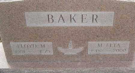 BAKER, FLOYD M - Franklin County, Ohio | FLOYD M BAKER - Ohio Gravestone Photos