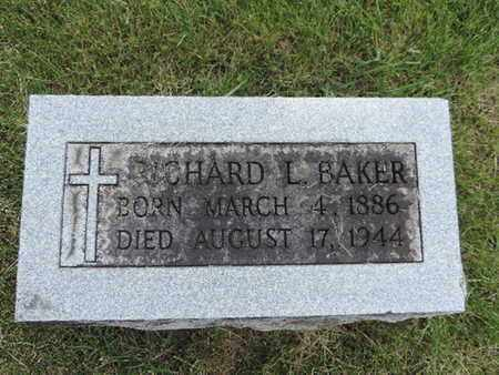 BAKER, RICHARD L. - Franklin County, Ohio | RICHARD L. BAKER - Ohio Gravestone Photos