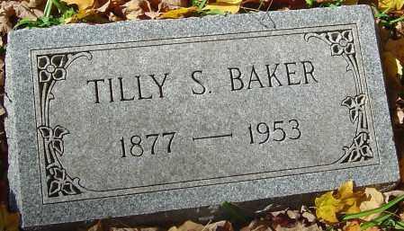BAKER, TILLY S - Franklin County, Ohio | TILLY S BAKER - Ohio Gravestone Photos