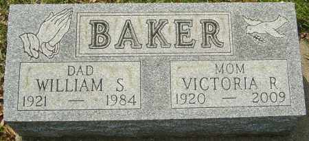 BAKER, WILLIAM S - Franklin County, Ohio | WILLIAM S BAKER - Ohio Gravestone Photos