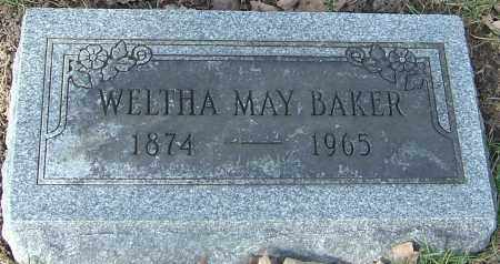 BAKER, WELTHA MAY - Franklin County, Ohio | WELTHA MAY BAKER - Ohio Gravestone Photos