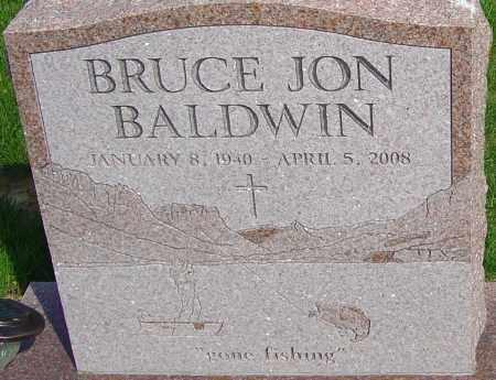 BALDWIN, BRUCE JON - Franklin County, Ohio | BRUCE JON BALDWIN - Ohio Gravestone Photos