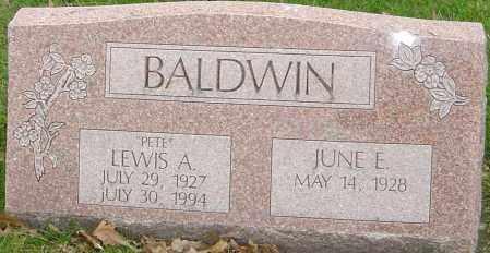 BALDWIN, LEWIS A - Franklin County, Ohio   LEWIS A BALDWIN - Ohio Gravestone Photos