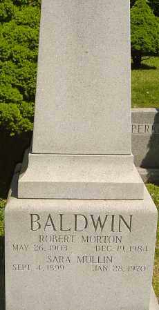 BALDWIN, SARA - Franklin County, Ohio | SARA BALDWIN - Ohio Gravestone Photos