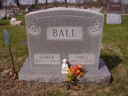 BALL, EMILY - Franklin County, Ohio | EMILY BALL - Ohio Gravestone Photos