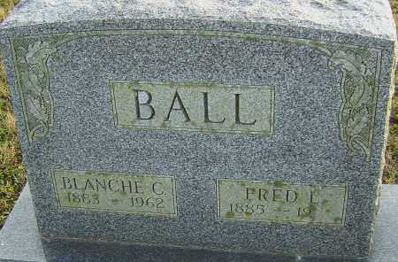 BALL, FRED - Franklin County, Ohio | FRED BALL - Ohio Gravestone Photos