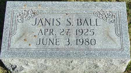 SARGENT BALL, JANIS - Franklin County, Ohio | JANIS SARGENT BALL - Ohio Gravestone Photos