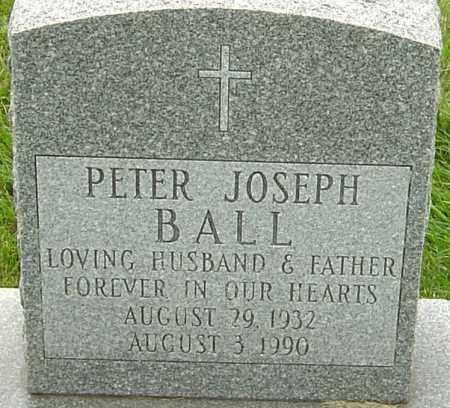 BALL, PETER JOSEPH - Franklin County, Ohio   PETER JOSEPH BALL - Ohio Gravestone Photos