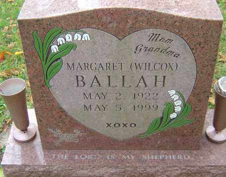 BALLAH, MARGARET - Franklin County, Ohio | MARGARET BALLAH - Ohio Gravestone Photos