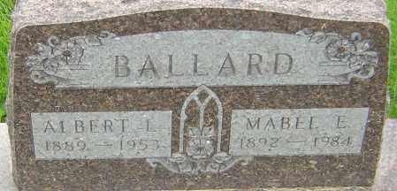 NOBLE BALLARD, MABEL E - Franklin County, Ohio | MABEL E NOBLE BALLARD - Ohio Gravestone Photos