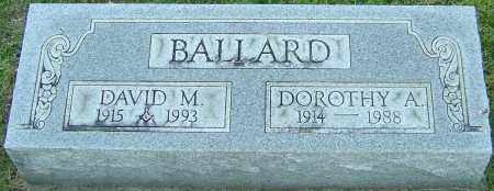 BALLARD, DAVID M - Franklin County, Ohio | DAVID M BALLARD - Ohio Gravestone Photos