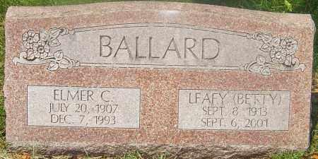 BALLARD, LEAFY (BETTY) - Franklin County, Ohio | LEAFY (BETTY) BALLARD - Ohio Gravestone Photos