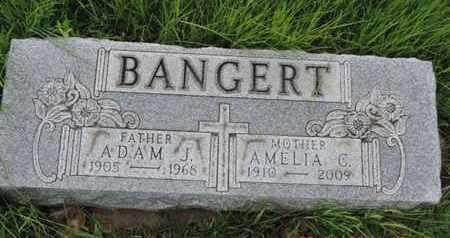 BANGERT, ADAM J - Franklin County, Ohio   ADAM J BANGERT - Ohio Gravestone Photos