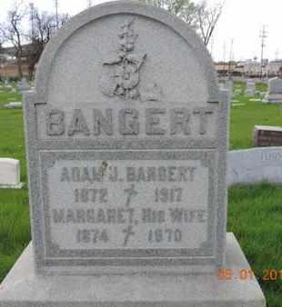 BANGERT, ADAM J - Franklin County, Ohio | ADAM J BANGERT - Ohio Gravestone Photos