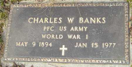 BANKS, CHARLES W - Franklin County, Ohio | CHARLES W BANKS - Ohio Gravestone Photos