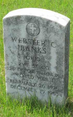 BANKS, WEBSTER C. - Franklin County, Ohio | WEBSTER C. BANKS - Ohio Gravestone Photos
