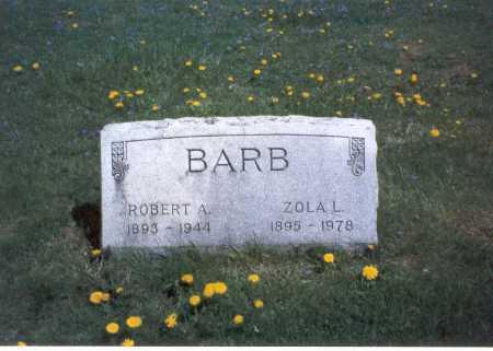 OLDHAM BARB, ZOLA - Franklin County, Ohio | ZOLA OLDHAM BARB - Ohio Gravestone Photos