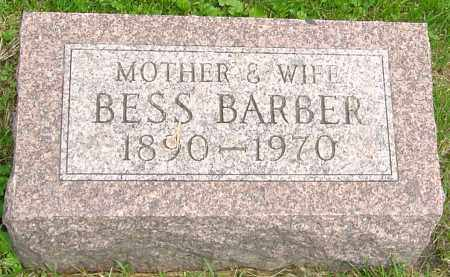 "GREEN BARBER, ELIZABETH ""BESS"" - Franklin County, Ohio 
