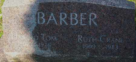 BARBER, RUTH - Franklin County, Ohio | RUTH BARBER - Ohio Gravestone Photos