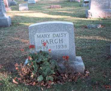 BARCH, MARY DAISY - Franklin County, Ohio | MARY DAISY BARCH - Ohio Gravestone Photos