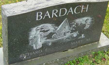 BARDACH, RICHARD - Franklin County, Ohio   RICHARD BARDACH - Ohio Gravestone Photos