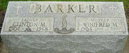 BARKER, CLINTON M - Franklin County, Ohio | CLINTON M BARKER - Ohio Gravestone Photos