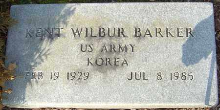 BARKER, KENT WILBUR - Franklin County, Ohio | KENT WILBUR BARKER - Ohio Gravestone Photos