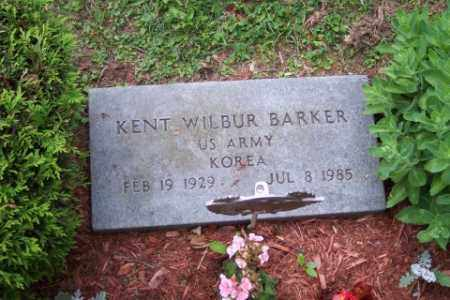 BARKER, KENT WILBUR - Franklin County, Ohio | KENT WILBUR BARKER - Ohio Gravestone Photos